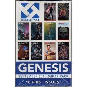 GENESIS & GENESIS II SEP & NOV 2015 DOUBLE TAKE 2 SUPER PACKS 1ST & 2ND ISSUES
