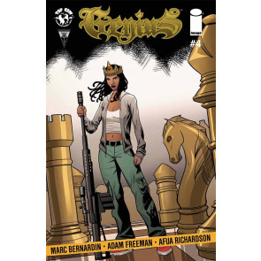 GENIUS (2014) #4 VF/NM IMAGE COMICS