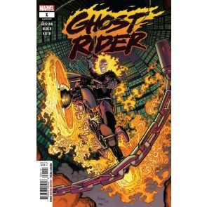 Ghost Rider (2019) #1 (#237) VF/NM Aaron Kuder Cover