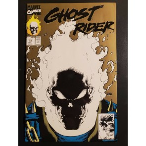 Ghost Rider (1991) #15 Gold 2nd Print, lower print Glow In The Dark Cover NM-|