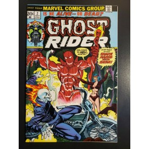Ghost Rider #2 (1973) VF+ (8.5) high grade 1st full appearance of Son of Satan|