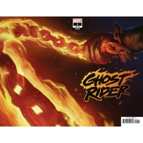 Ghost Rider (2019) #1 (#237) VF/NM Razzah Teaser Variant Cover