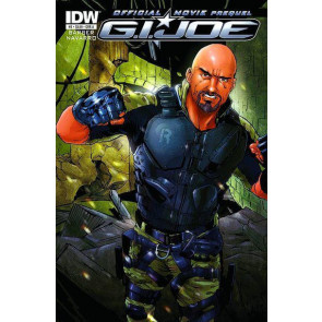 G.I. JOE 2 RETALIATION #2 NM IDW OFFICIAL MOVIE PREQUEL