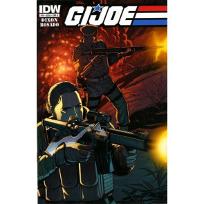 G.I. JOE (2011) #14 NM COVER B CHUCK DIXON IDW