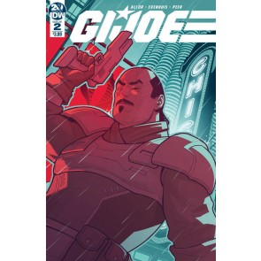 G.I. Joe (2019) #2 VF/NM Chris Evenhuis Cover IDW