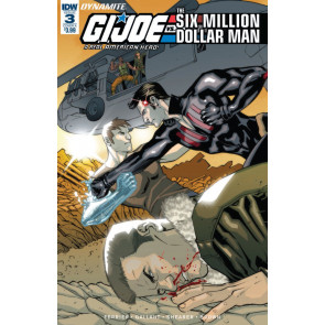 G.I. Joe: A Real American Hero vs. the Six Million Dollar Man (2018) #3 VF/NM