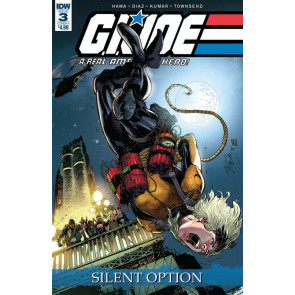 G.I. Joe: A Real American Hero: Silent Option (2018) #3 Netho Diaz VF/NM DW