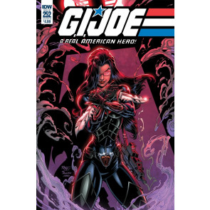 G.I. Joe: A Real American Hero (2010) #252 VF/NM Baroness John Royle Cover IDW