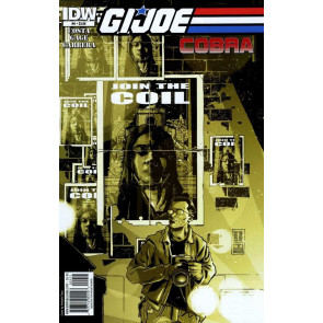 G.I. JOE: COBRA (2010) #'9 VF/NM IDW