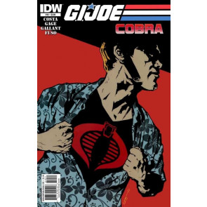 G.I. JOE: COBRA (2010) #'s 10, 11, 12, 13 COMPLETE SET IDW