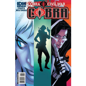 G.I. JOE: COBRA #6 NM COVER A COBRA CIVIL WAR