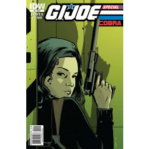 G.I. JOE: COBRA SPECIAL (2010) #'2 VF/NM IDW