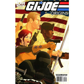 G.I. JOE ORIGINS (2009) #23 VF+ DAVID LAPHAM IDW