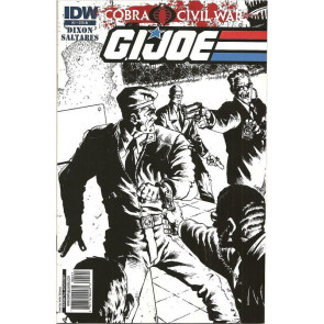 G.I. JOE VOLUME 2 #2 JAVIER SALTARES VARIANT COVER