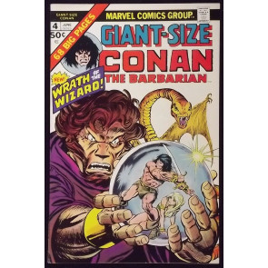 GIANT-SIZE CONAN #4 VF+ BARRY SMITH