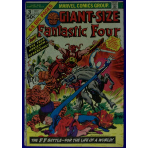 GIANT- SIZE FANTASTIC FOUR # 3 VG-