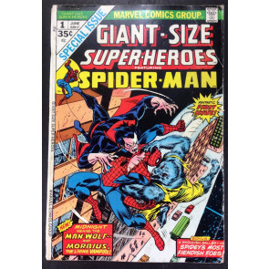 Giant Size Super-Heroes (1974) #1 GD (2.0) Spider-Man vs Morbius & Man-Wolf