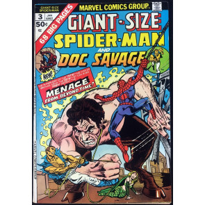 Giant-Size Spider-Man (1975) #3 VF- (7.5) guest starring Doc Savage