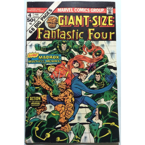 Giant-Size Fantastic Four #4 FN- (5.5) 1st app Madrox the Multiple Man