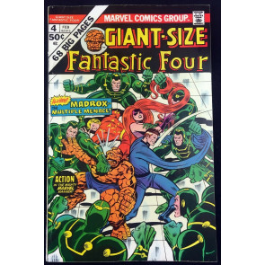 Giant-Size Fantastic Four (1975) #4 FN+ (6.5) 1st app Madrox the Multiple Man