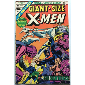 Giant-Size X-MEN #2 (1975) VG+ (4.5)