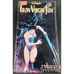 Go Nagai's Iron Virgin Jun Anime VHS still in original shrink warp