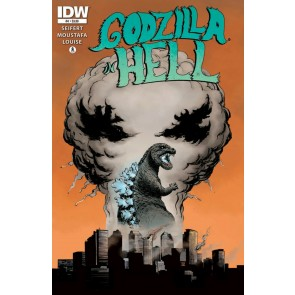 Godzilla in Hell (2015) #4 of 5 VF/NM Ibrahim Moustafa Cover IDW