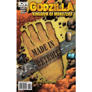 GODZILLA: KINGDOM OF MONSTERS #6 NM COVER A