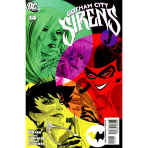 GOTHAM CITY SIRENS (2009) #14 VF+ HARLEY QUINN CATWOMAN POISON IVY