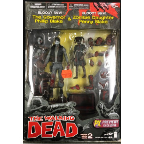 Governor & Zombie Penny action figure 2 pack by McFarlane Toys MIB Walking Dead