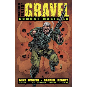 GRAVEL: COMBAT MAGICIAN #3 VF/NM REGULAR COVER AVATAR