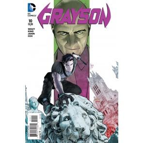 GRAYSON (2014) #10 VF/NM