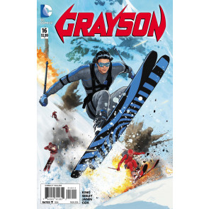 Grayson (2014) #16 VF/NM