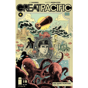 GREAT PACIFIC #16 VF/NM COVER B IMAGE COMICS