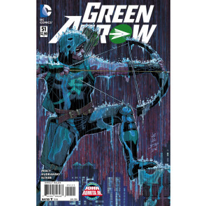 Green Arrow (2011) #51 VF/NM John Romita Jr Variant Cover