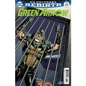 Green Arrow (2016) #25 VF/NM Mike Grell Variant DC Universe Rebirth