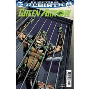 Green Arrow (2016) #25 VF/NM Neal Adams Variant DC Universe Rebirth