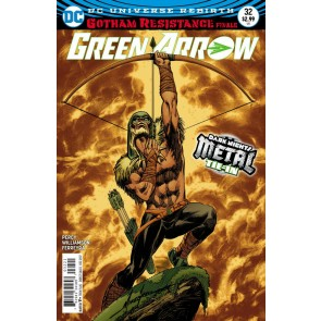 Green Arrow (2016) #32 VF/NM Mike Grell Cover Metal Tie-In Gotham Resistance