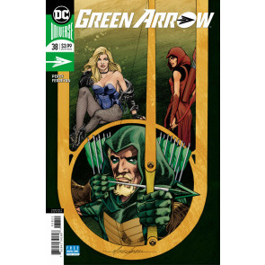 Green Arrow (2016) #38 FN+ - FN/VF Mike Grell Variant Cover DC Universe CW