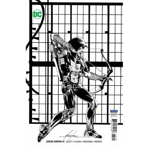 Green Arrow (2016) #41 VF/NM Mike Grell Variant DC Universe