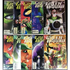 Green Arrow (2001) #1-10 NM (9.4) complete Quiver Story Line By Kevin Smith
