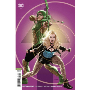 Green Arrow (2016) #46 VF/NM Kaare Andrews Variant Cover DC Universe CW