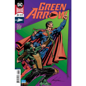Green Arrow (2016) #39 VF/NM Mike Grell Variant DC Universe