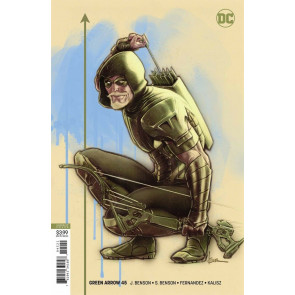 Green Arrow (2016) #45 VF/NM Kaare Andrews Variant Cover DC Universe CW