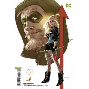 Green Arrow (2016) #47 VF/NM Kaare Andrews Variant Cover DC Universe CW