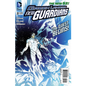 GREEN LANTERNS: NEW GUARDIANS #21 VF+ - VF/NM THE NEW 52!
