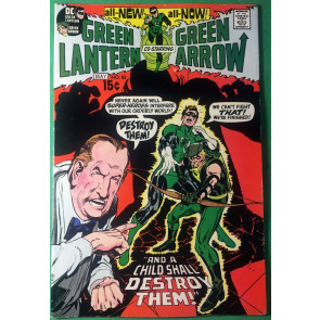 Green Lantern (1960) #83 FN/VF (7.0) Neal Adams cover & art