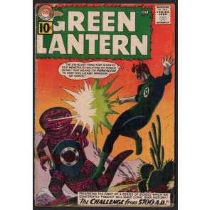 Green Lantern (1960) #8 GD+ (2.5) Grey Tone Cover 1st 5700 AD