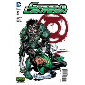 Green Lanterns (2011) #45 VF/NM-NM Adams Monsters of the Month Variant Cover