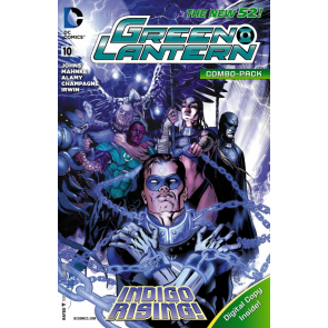 Green Lantern (2011) #10 VF/NM Combo Pack Variant Cover New 52!